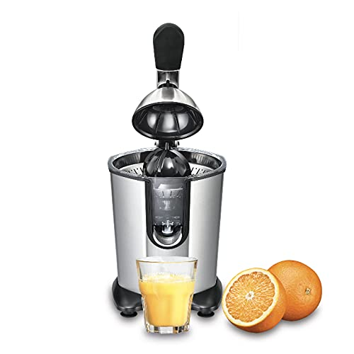 Solis Citrus Juicer 8453 Exprimidor Eléctrico - Exprimidor Naranjas - Licuadora Para Zumos Automático - Acero Inoxidable - 160W