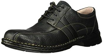Clarks Men s Espace Oxford Black Oily Leather 080 M US