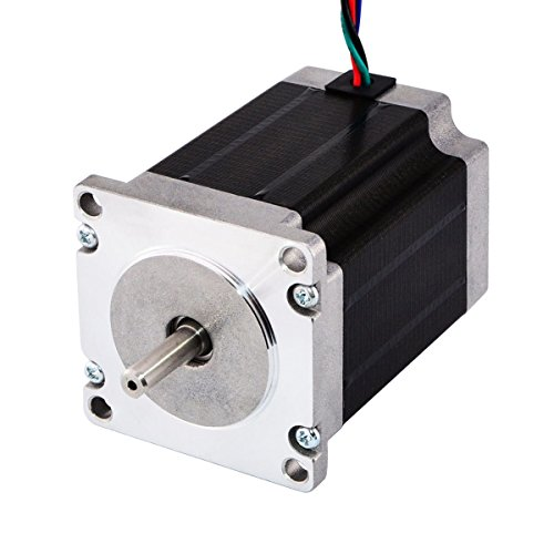 STEPPERONLINE Nema 23 Stepper Motor 3.0A 269oz.in/1.9Nm 76mm Length Step motor for CNC Mill Lathe Router