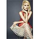 NOVELOVE Margot Robbie Schauspielerin Poster Leinwand