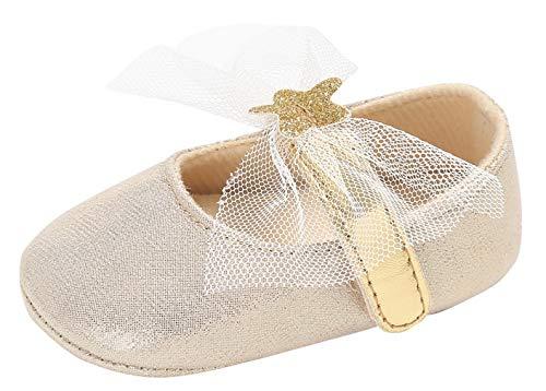 DEMU gymschoenen peuterschoenen babyschoenen meisjes dansschoenen ballerina's kruipschoenen Innelänge 12cm goud