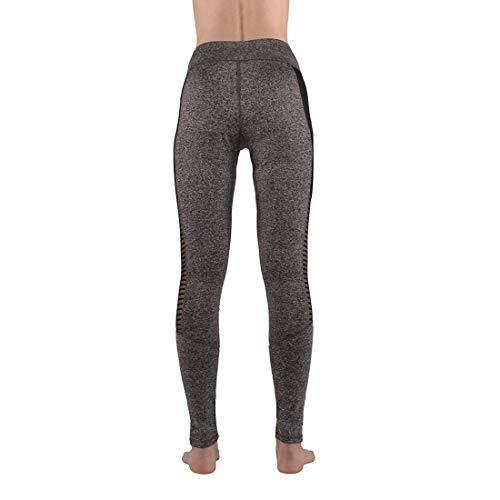 ManYFas ボディービルパンツ ランニングウェア レギンス ヨガパンツ 女性用 着圧 通気性 動きやすい 細見えで幅広く使えるデザイン トレーニング レディースパンツ ロングパンツ (Size : M)