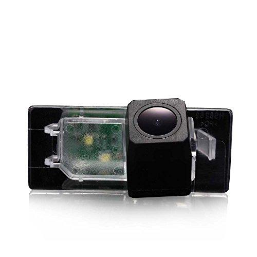 HD CCD Rückfahrkamera Nummernschild Kennzeichen Einparkhilfe Nachtsicht für Seat Alhambra 2011~/Ibiza/ST 2009 (No.1)