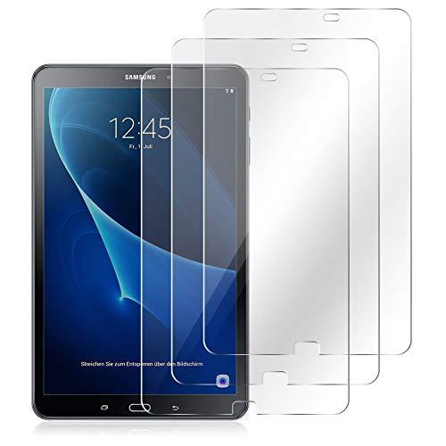 NAUC Panzerfolie kompatibel für Samsung Galaxy Tab A6 10.1 2016 Bildschirmschutz 3X Folie Schutzfolie