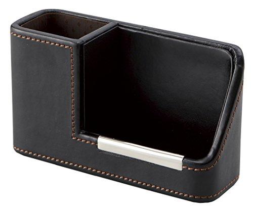 茶谷産業 LA VITA IDEALE 携帯&メガネスタンド Large ブラウン 240-570BK