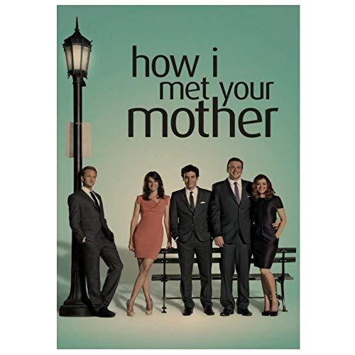 póster como conocí a vuestra madre de la marca