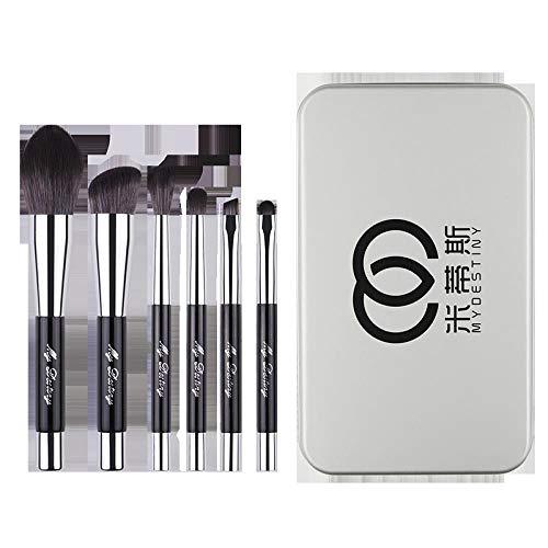 Magnet Make-Up Pinsel Set Pinsel Voller Satz Weicher Haare Schattenbürste Nasenschattenbürste Lose...