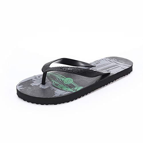 Harpily Sandali Infradito da Spiaggia e Piscina Uomo Scarpe Casual Pantofole Unisex Bagno Slittata Infradito Sandali da Viaggio Portatili Antiscivolo