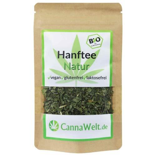 CannaWelt Bio Naturtee / Kräutertee - 100g - Ein wohlschmeckender Tee mit positiven Eigenschaften