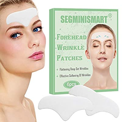 Forehead Wrinkle Patches, Facial Wrinkle Patches, Wrinkle Remover Strips, Face Mask for Dry Skin Strips, Anti-aging Moisturizing Pads Against Forehead Wrinkles Lines from Segminismart