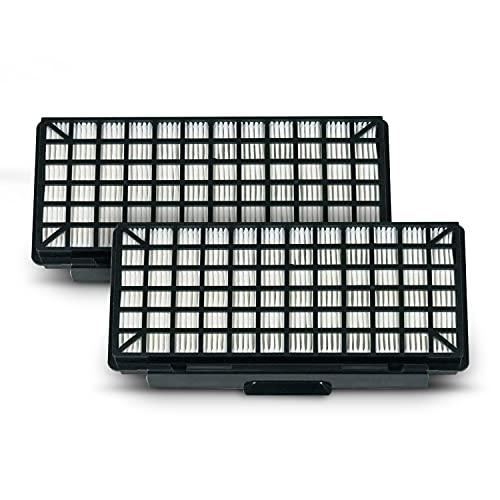 Juego de 2 filtros HEPA de repuesto para Bosch 00579496 00577303, filtro de láminas BBZ154HF VZ154HFB para aspiradora de suelo, accesorios de filtro para aspiradora, caja de filtro de aire