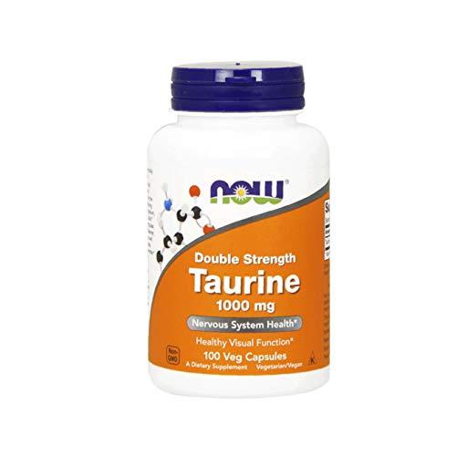 NOW Foods - doppia forza taurina 1000 mg. - 100 capsule