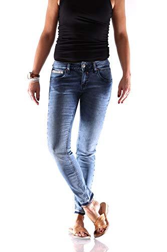 Herrlicher Damen Jeans Touch Cropped Blue Denim 25