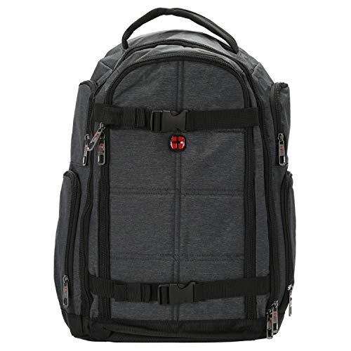 Dernier Rucksack mit Laptopfach 46 cm grau