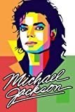 Michael Jackson Notebook: 110 Wide Lined Pages - 6' x 9' - Planner, Journal, Notebook, Composition Book, Diary for Women, Men, Teens, and Children