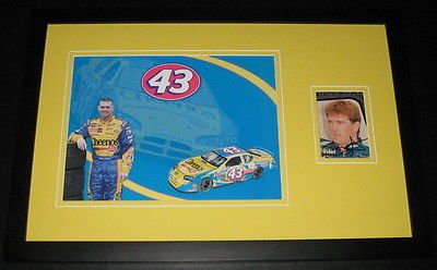 Bobby Labonte Signed Framed 11x17 Poster Photo Display