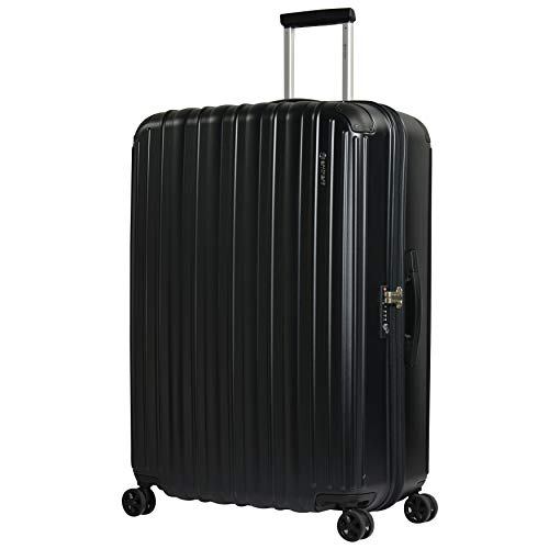 Eminent Suitcase Move Air NEO 82 cm 125 L Lightweight Extra Corner Protection Anti-Scratch Hardshell Black
