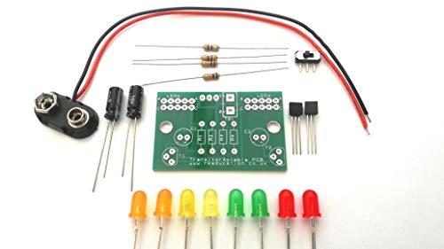 Transistor astabiler Multivibrator 2x BC182L Bausatz