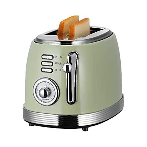 SDFD Tostadora de rebanamiento Inteligente, Incluso el Calentamiento Puede Cortar automáticamente la tostadora, Adecuada para descongelar y recalentar Todo Tipo de Pan en la Cocina.