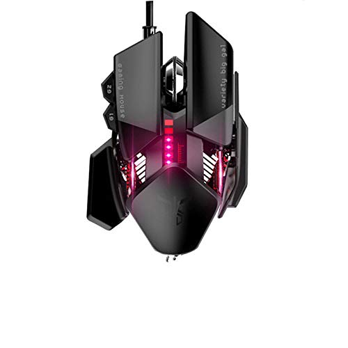 Professional 4000DPI Wired Optical Gaming Mouse Ergonomic Computer Adjustable Mice
