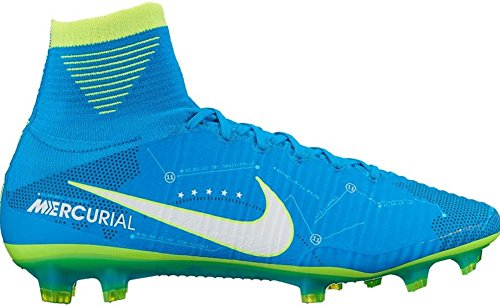 Nike Men's Mercurial Superfly V NJR FG Soccer Cleat (Sz. 11.5) Blue Orbit