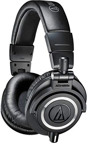Audio-Technica ATH-M50x Professional Studio Monitor Headphones