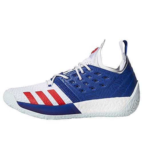 adidas Herren Harden Vol. 2 Basketballschuhe, Blau (Mysink/Ftwwht/Blutin Mysink/Ftwwht/Blutin), 40 2/3 EU
