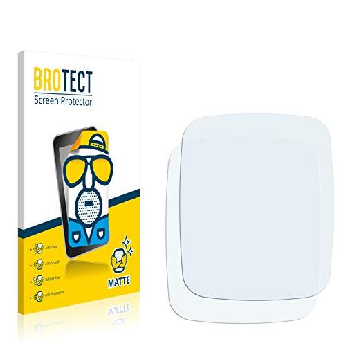 BROTECT 2X Entspiegelungs-Schutzfolie kompatibel mit Asus ZenWatch WI500Q Bildschirmschutz-Folie Matt, Anti-Reflex, Anti-Fingerprint