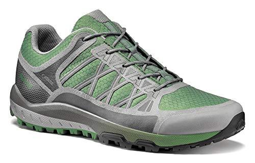 Asolo Women's Grid GV Hiking Shoe Hedge Green 9.5 & Knit Cap Bundle