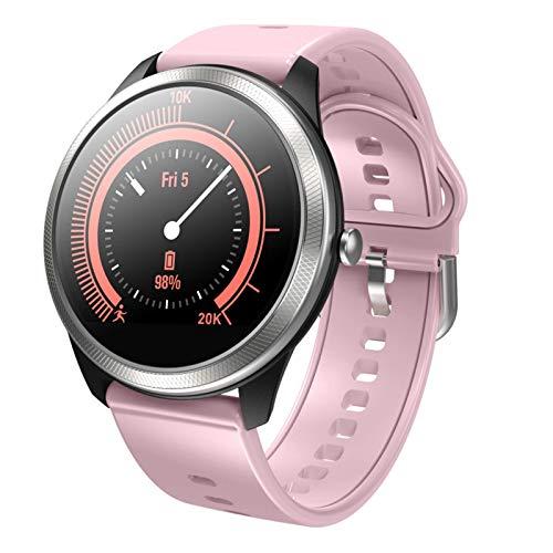 LVF F11 Hombres Y Mujeres Smart Watch Color Screen Tasa De Corazón Sports Bluetooth Multifuncional Smart Watch Adecuado para Android iOS,B