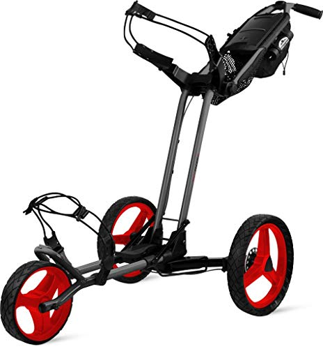 Sun Mountain Chariot 3 Roues Pathfinder Magnetic Grey Red...