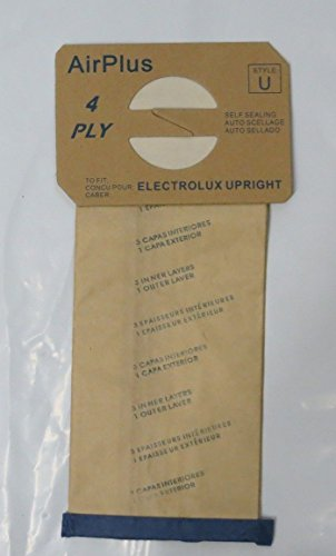 12 Bags for Electrolux Upright Vacuum Cleaner STYLE U