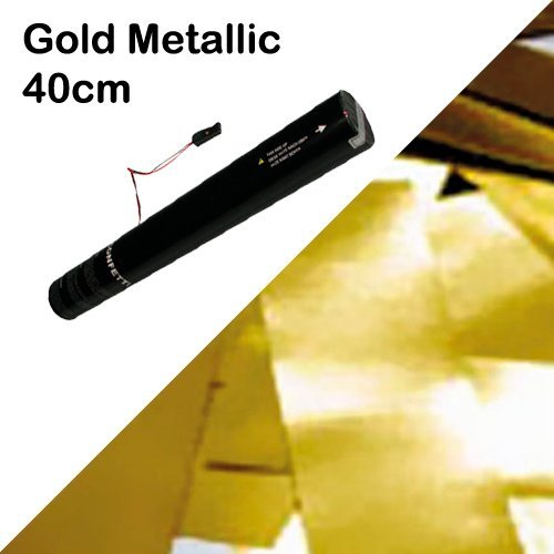 Showtec - FX Shot Confetti kanonnen - Goud Mataals, 40cm