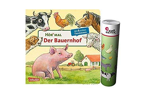 Carlsen Verlag Der Bauernhof (Hör mal) Pappbilderbuch + 1 x Bauernhof-Poster by Collectix