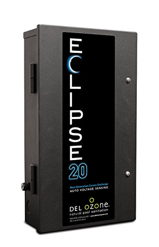 DEL Ozone EC-20 Eclipse-20 Pool Ozone Generator