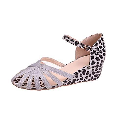 Lady Gladiator Sandals Candy Color Buckle Strap Sequin Slingback Buckle Strap Low Wedge Heel Summer Elegant Sandals