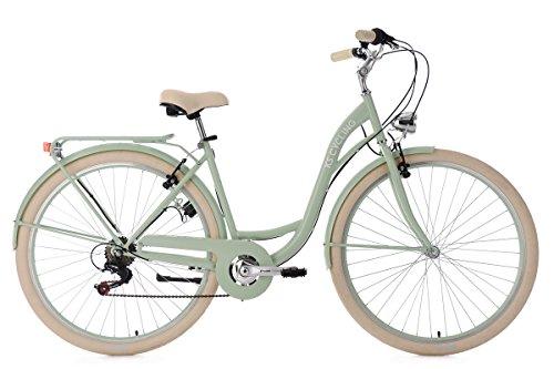 KS Cycling Damenfahrrad 28'' Balloon grün RH48cm