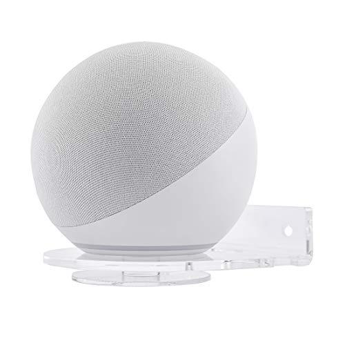 Beuya Soporte de Montaje en Pared para Nuevo Echo (4.ª generación), Echo Dot (4.ª generación), Echo Dot (3.ª generación) Altavoz Inteligente | Soportes para Montaje en Pared para Echo Show 5