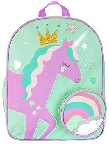 Harry Bear Zaino per Bambini Principessa Unicorno Verde