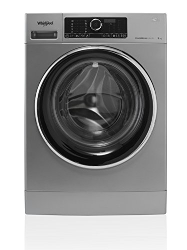 Whirlpool AWG 912 S/PRO Independiente Carga frontal 9kg 1200RPM Negro, Gris - Lavadora (Independiente, Carga frontal, Negro, Gris, Tocar, Negro, Acero inoxidable)