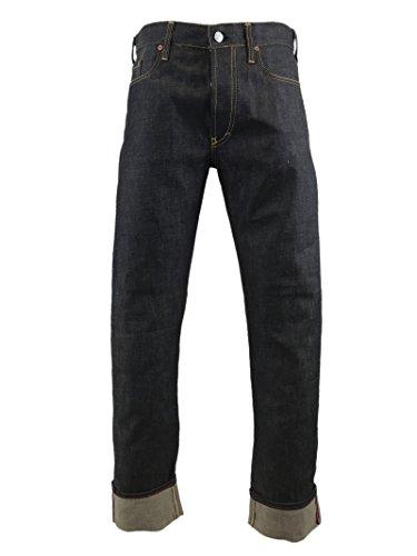 EVISU 008201 Top Notch Rough Denim Jeans with Embroidery 28