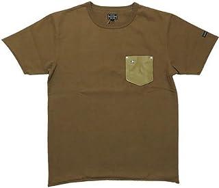 (ショット)Schott Tシャツ 半袖 レザーポケット ワンスター スタッズ 3163030