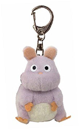 Studio Ghibli spirited away Turbo mouse soft plush toy key ring