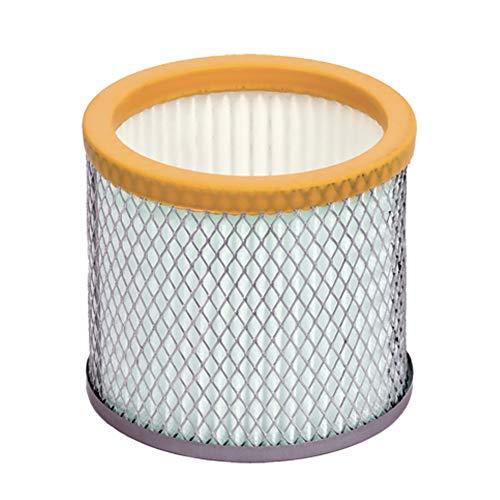 Ribimex Filtro HEPA para aspirador de cenizas Babycen, naranja, gris y blanco, pequeño