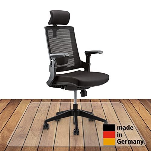 Königwerk Bodenschutzmatte Bürostuhl - rutschfeste Bürostuhl Unterlage - 91 x 122 cm - Made in Germany
