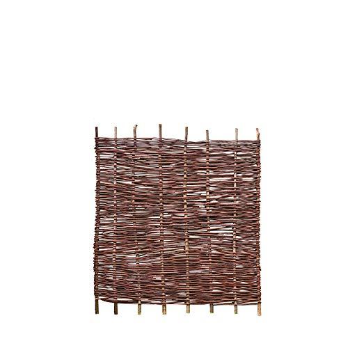 Weidenprofi Sichtschutz, Weidenzaun Modell Natur, Flechtzaun aus Weide - Größe (BxH) 100 x 120 cm