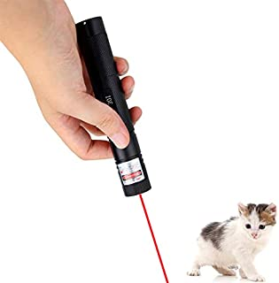 infinitoo Laser Pointer Toys for Cats/Dogs, Demonstration Pen for Speech, Astronomical Indicator(Red Light)