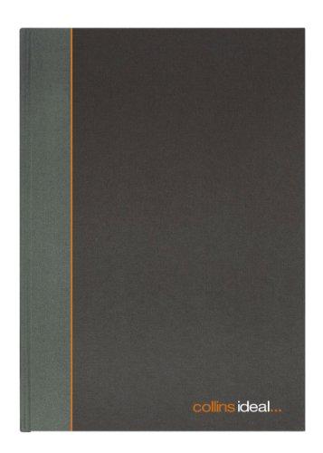 Collins Ideal 6424 - Cuaderno para cuentas (encuadernación rígida, 192 páginas, lineado)