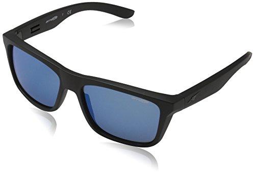 Arnette Syndrome gafas de sol, Matte Black, 57 para Hombre