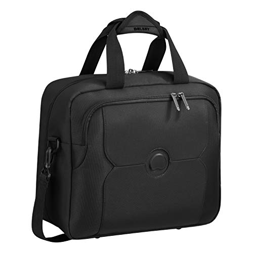 Delsey Paris MERCURE Mallette, 36 cm, 0,5 liters, Noir...